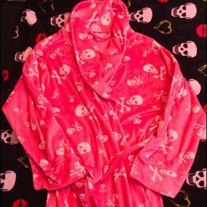 Pink 💀skull 💀 robe